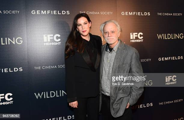 Liv Tyler and Brad Dourif attend 'Wildling' New York Screening at iPic Theater on April 8 2018 in New York City