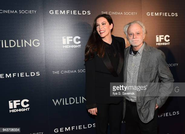 Liv Tyler and Brad Dourif attend Wildling New York Screening at iPic Theater on April 8 2018 in New York City
