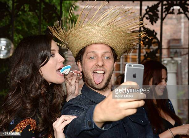 Liv Tyler and Derek Blasberg attend the Stella McCartney Spring 2016 Resort Presentation on June 8 2015 in New York City