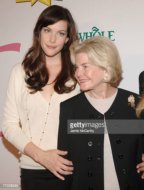 Liv Tyler and Dorothea Johnson arrive to Kick Off Breast Cancer Awarness Month with the Launch of Generation Pink EmergenC Pink at Whole Foods Market...
