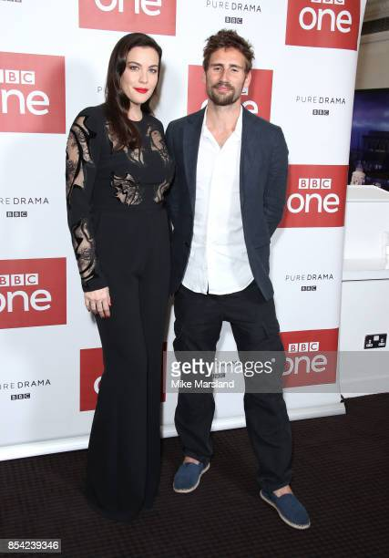 Liv Tyler and Edward Holcroft attend the 'Gunpowder' preview screening at BAFTA on September 26 2017 in London England