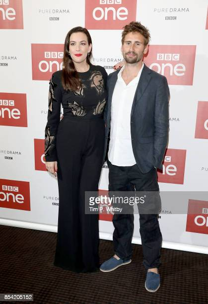 Liv Tyler and Edward Holcroft attending the 'Gunpowder' preview screening at BAFTA on September 26 2017 in London England