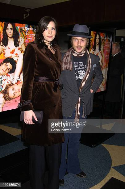 Liv Tyler and husband Royston Langdon during New York Premiere of The Dreamers at Beekman Theater in New York City, New York, United States.