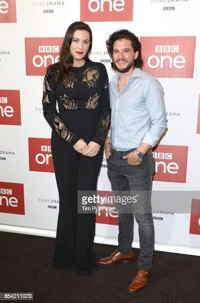 Liv Tyler and Kit Harington attending the 'Gunpowder' preview screening at BAFTA on September 26 2017 in London England