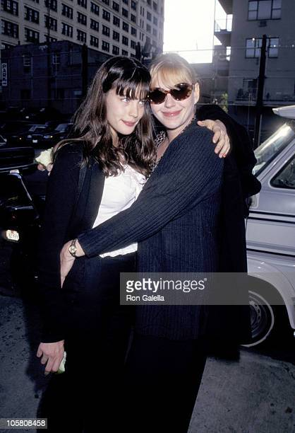 Liv Tyler and Mother Bebe Buell during Pediatric AIDS Foundation Kids for Kids Carnival at Industria Superstudio in New York New York United States