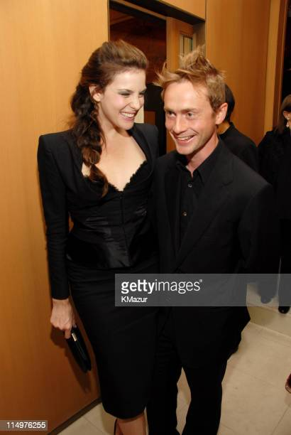 Liv Tyler and Royston Langdon during Cocktail Party and Intimate Dinner in Celebration of the Cartier - Cocktail Reception at The Cartier Mansion in...