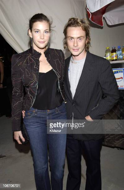 Liv Tyler and Royston Langdon during Mercedes Benz Fashion Week 2003 - Opening of the First Stella McCartney Store Worldwide at Stella McCartney...