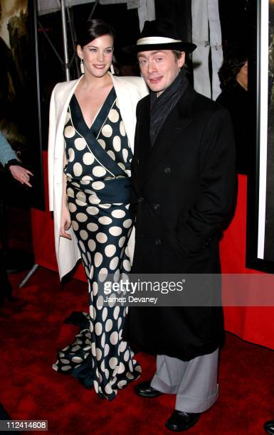 """Liv Tyler and Royston Langdon during """"The Lord of The Rings: The Two Towers"""" Premiere - New York at Ziegfeld Theatre in New York City, New York,..."""