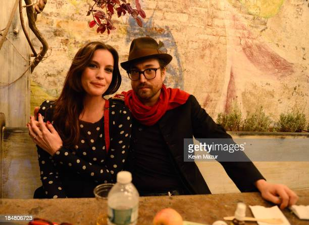 Liv Tyler and Sean Lennon attend a performance benefitting David Lynch Foundation at Electric Lady Studio on October 16, 2013 in New York City.