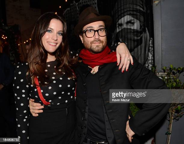 Liv Tyler and Sean Lennon attend a performance benefitting David Lynch Foundation at Electric Lady Studio on October 16 2013 in New York City
