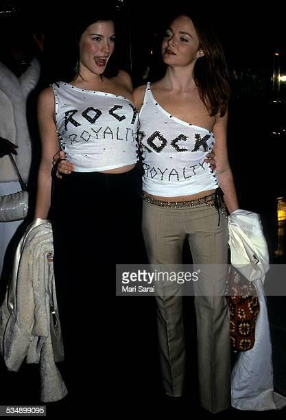 Liv Tyler and Stella McCartney at Metropolitan Museum of Art Costume Institute Gala, New York, December 6, 1999.