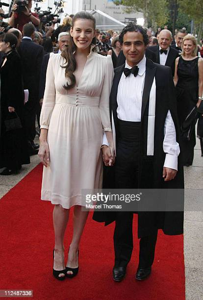 Liv Tyler and Zac Posen during 'Madama Butterfly' Opening Night Starting the Lincoln Center Metropolitan Opera 20062007 Season at Lincoln Center in...