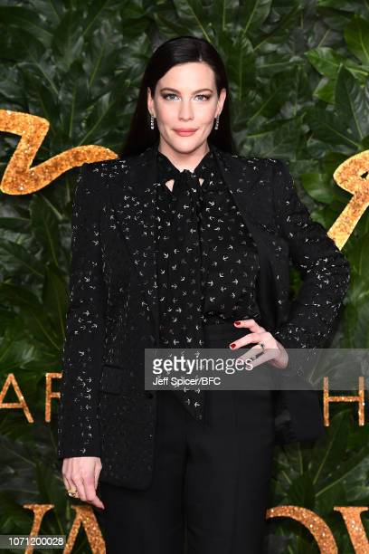Liv Tyler arrives at The Fashion Awards 2018 In Partnership With Swarovski at Royal Albert Hall on December 10 2018 in London England