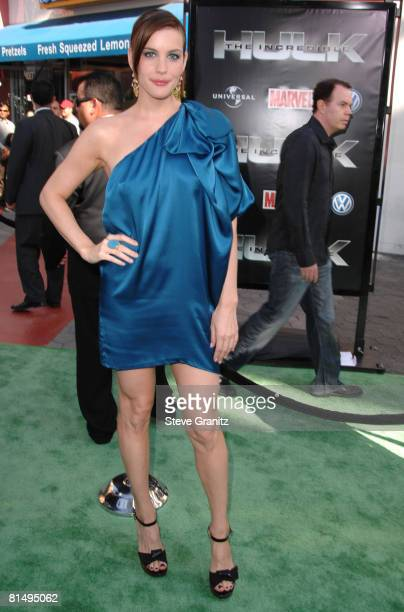 """Liv Tyler arrives at the Premiere Of Universal Pictures' """"The Incredible Hulk"""" on June 8, 2008 in Universal City, California."""