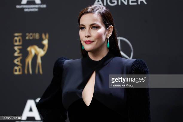 Liv Tyler arrives for the 70th Bambi Awards at Stage Theater on November 16 2018 in Berlin Germany