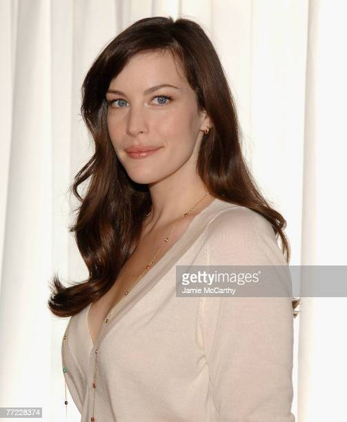 Liv Tyler arrives to Kick Off Breast Cancer Awarness Month with the Launch of Generation Pink EmergenC Pink at Whole Foods Market in New York October...