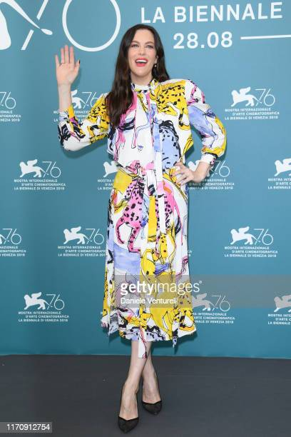 "Liv Tyler attends ""Ad Astra"" photocall during the 76th Venice Film Festival at Sala Grande on August 29, 2019 in Venice, Italy."