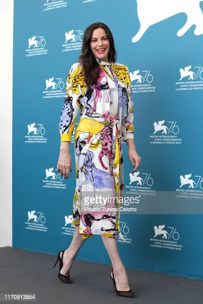 Liv Tyler attends Ad Astra photocall during the 76th Venice Film Festival at Sala Grande on August 29 2019 in Venice Italy