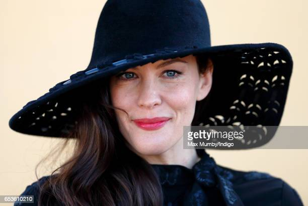 Liv Tyler attends day 2 'Ladies Day' of the Cheltenham Festival at Cheltenham Racecourse on March 15 2017 in Cheltenham England