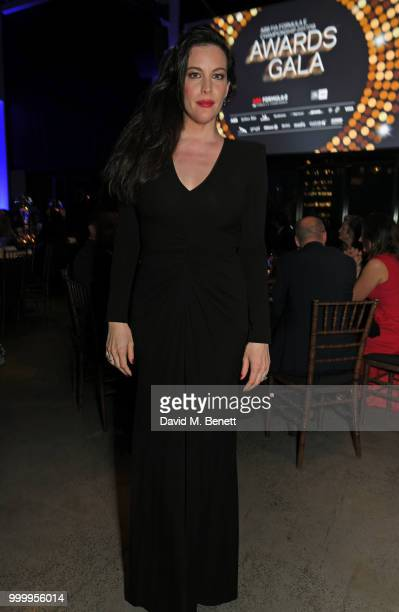 Liv Tyler attends the 2017/18 ABB FIA Formula E Championship Awards Dinner following the Formula E 2018 Qatar Airways New York City EPrix at Spring...