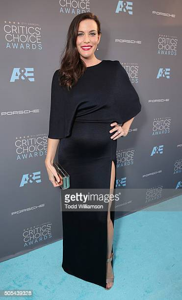Liv Tyler attends the 21st Annual Critics' Choice Awards at Barker Hangar on January 17 2016 in Santa Monica California
