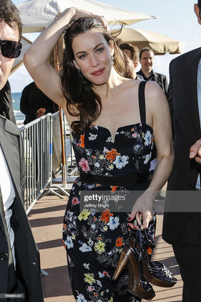 Liv Tyler attends the 66th Annual Cannes Film Festival on May 17, 2013 in Cannes, France.