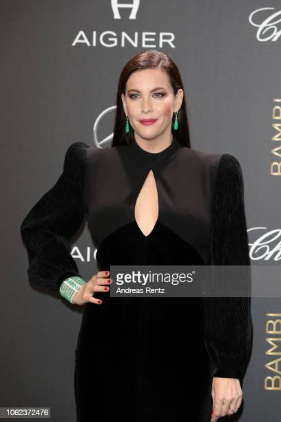 Liv Tyler attends the 70th Bambi Awards at Stage Theater on November 16 2018 in Berlin Germany