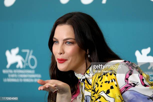 "Liv Tyler attends the ""Ad Astra"" photocall during the 76th Venice Film Festival at Sala Grande on August 29, 2019 in Venice, Italy."