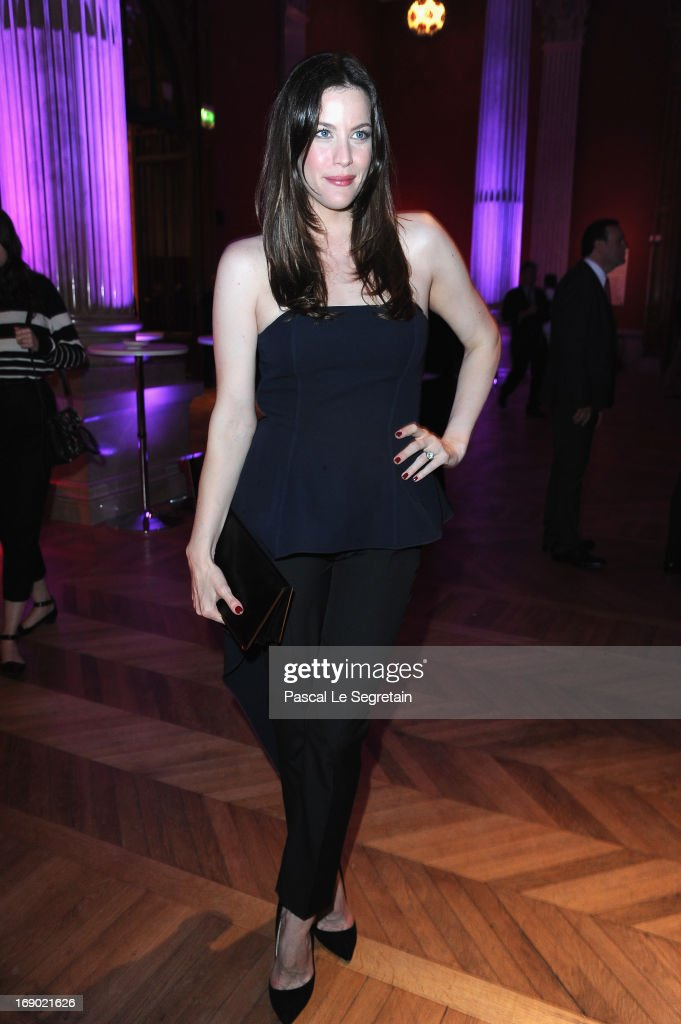Liv Tyler attends the Dior Cruise Collection 2014 cocktail on May 18, 2013 in Monaco, Monaco.