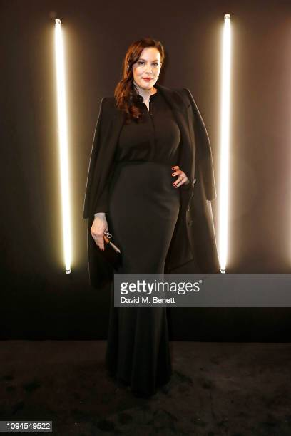 Liv Tyler attends the dunhill PreBAFTA dinner at dunhill Bourdon House on February 6 2019 in London England