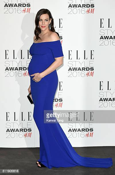 Liv Tyler attends The Elle Style Awards 2016 on February 23 2016 in London England