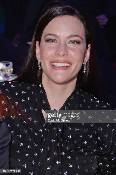 Liv Tyler attends The Fashion Awards 2018 in partnership with Swarovski after party at the Royal Albert Hall on December 10 2018 in London England