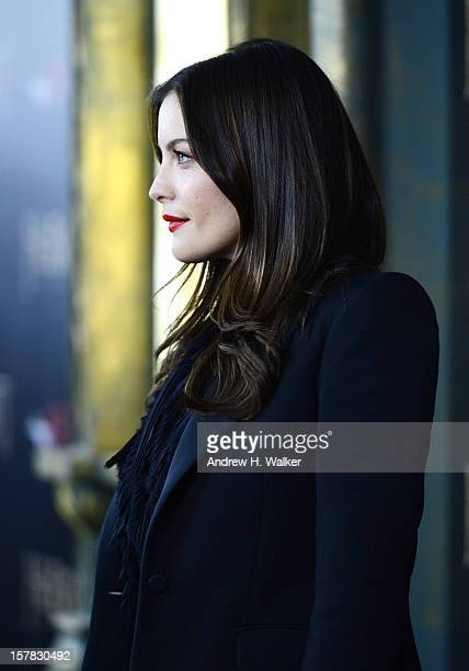 "Liv Tyler attends ""The Hobbit: An Unexpected Journey"" New York Premiere Benefiting AFI - Red Carpet And Introduction at Ziegfeld Theater on December..."