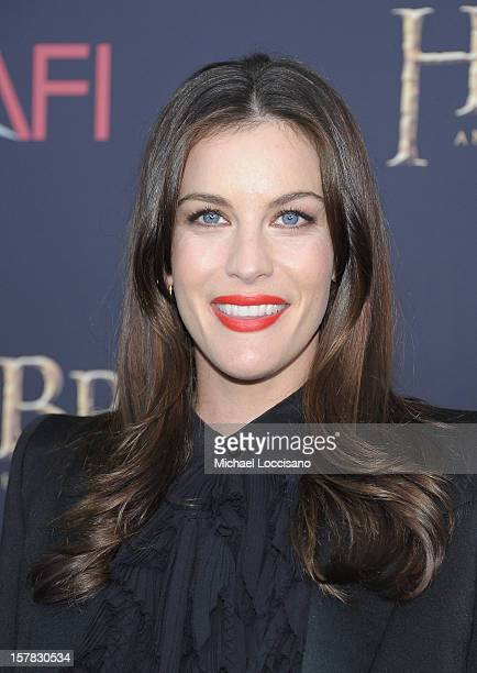 "Liv Tyler attends ""The Hobbit: An Unexpected Journey"" New York premiere benefiting AFI at Ziegfeld Theater on December 6, 2012 in New York City."