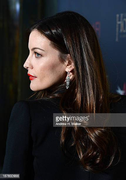 Liv Tyler attends The Hobbit An Unexpected Journey New York premiere benefiting AFI at Ziegfeld Theater on December 6 2012 in New York City