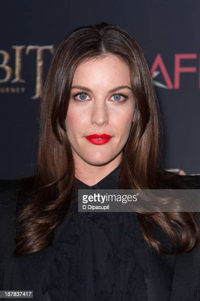 "Liv Tyler attends ""The Hobbit: Unexpected Journey"" premiere at the Ziegfeld Theater on December 6, 2012 in New York City."