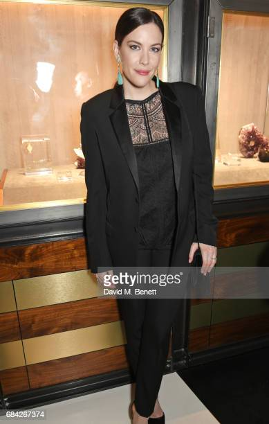 Liv Tyler attends the launch of the KATE MOSS X ARA VARTANIAN collection on May 17 2017 in London England
