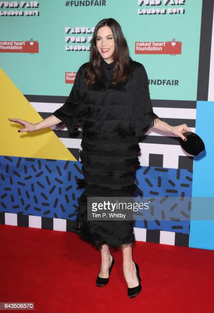 Liv Tyler attends The Naked Heart Foundation's London's Fabulous Fund Fair on February 21 2017 in London United Kingdom