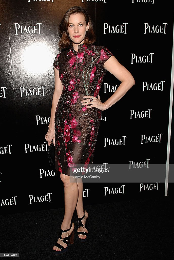 Liv Tyler attends the Piaget Hosts The Limelight Paris-New York Collection event at The Loft and Garden at Rockefeller Center on August 7, 2008 in New York City.