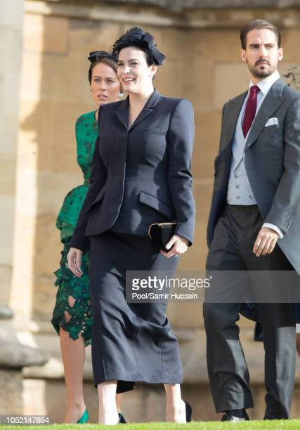 Liv Tyler attends the wedding of Princess Eugenie of York and Jack Brooksbank at St George's Chapel in Windsor Castle on October 12 2018 in Windsor...