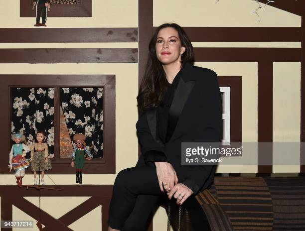 Liv Tyler attends 'Wildling' New York Screening After Party at The Beekman on April 8 2018 in New York City