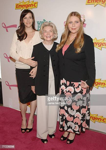 Liv Tyler Bebe Buell and Dorothea Johnson arrive to Kick Off Breast Cancer Awarness Month with the Launch of Generation Pink EmergenC Pink at Whole...