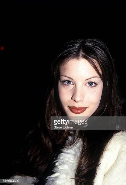 Liv Tyler Celebrates Joan Rivers Gossip Party at Club USA New York April 28 1993