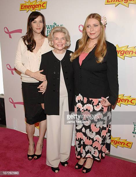 Liv Tyler Dorothea Johnson and Bebe Buell arrive to Kick Off Breast Cancer Awarness Month with the Launch of Generation Pink EmergenC Pink at Whole...