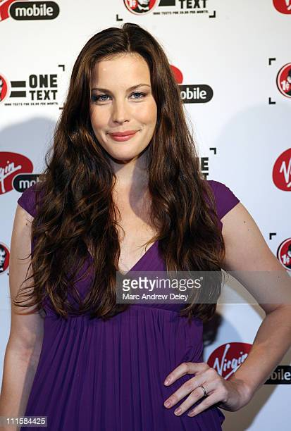 Liv Tyler during 2006 MTV Video Music Awards Virgin Mobile VMA After Party Arrivals at Gotham Hall in New York City New York United States