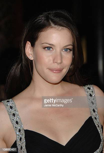 Liv Tyler during 2006 New Yorkers For Children Fall Gala at Cipriani in New York City New York United States