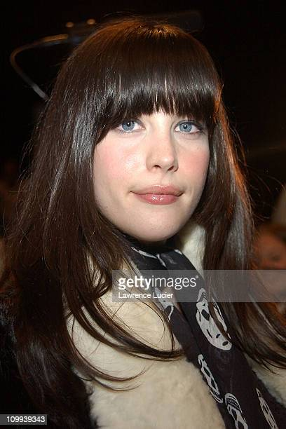 Liv Tyler during Faces From The Marc Jacobs Fashion Show at The Armory in New York New York United States