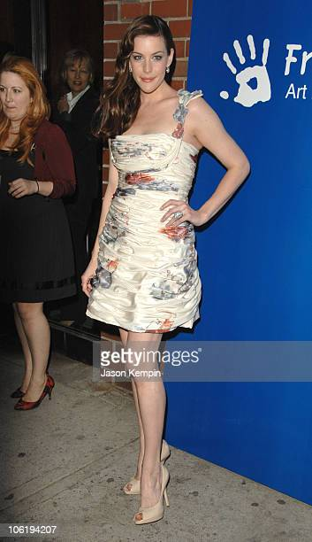 Liv Tyler during Free Arts 8th Annual Art and Photography Auction Benefit April 23 2007 at Milk Gallery in New York City New York United States
