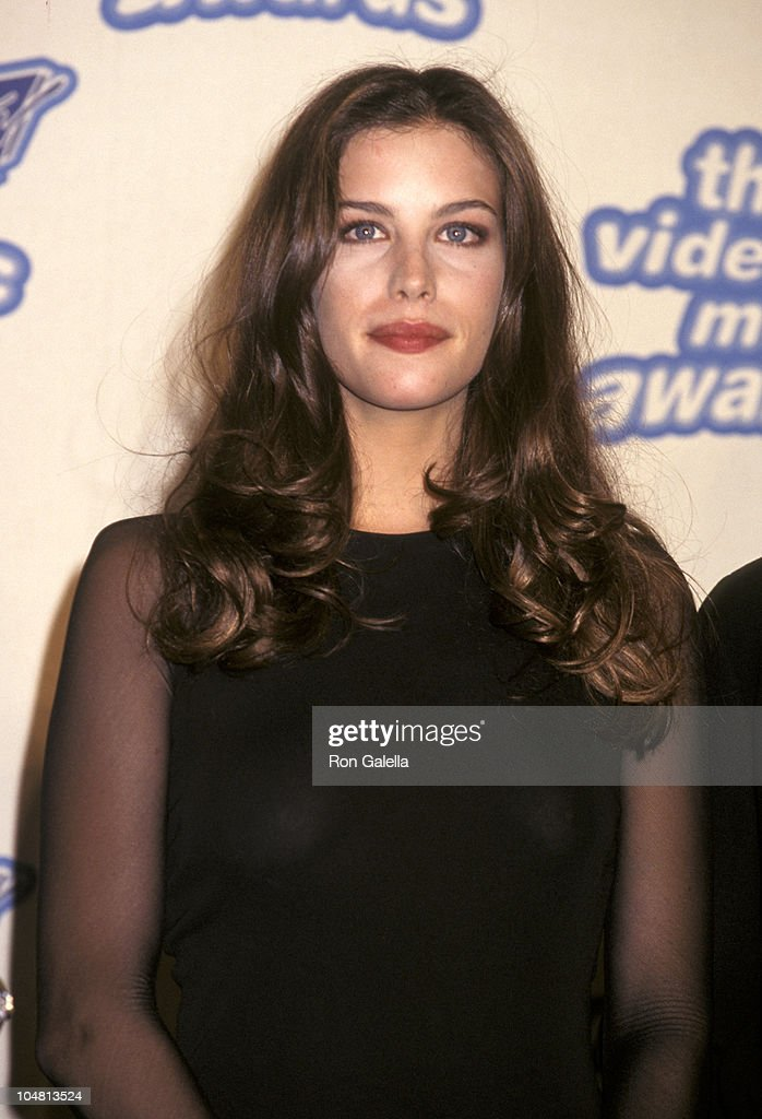 Liv Tyler during The 12th Annual MTV Video Music Awards at Radio City Music Hall in New York City, New York, United States.