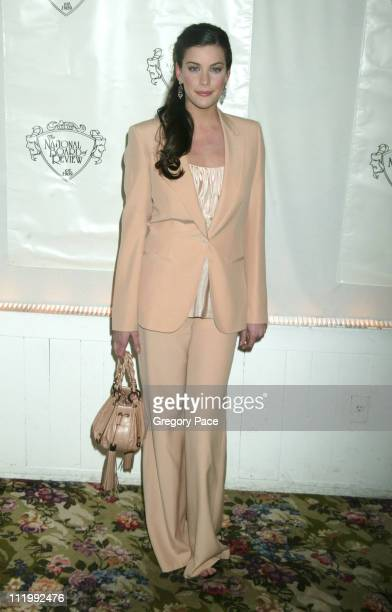 Liv Tyler during The 2003 National Board of Review of Motion Pictures Annual Awards Gala at Tavern on the Green in New York City New York United...